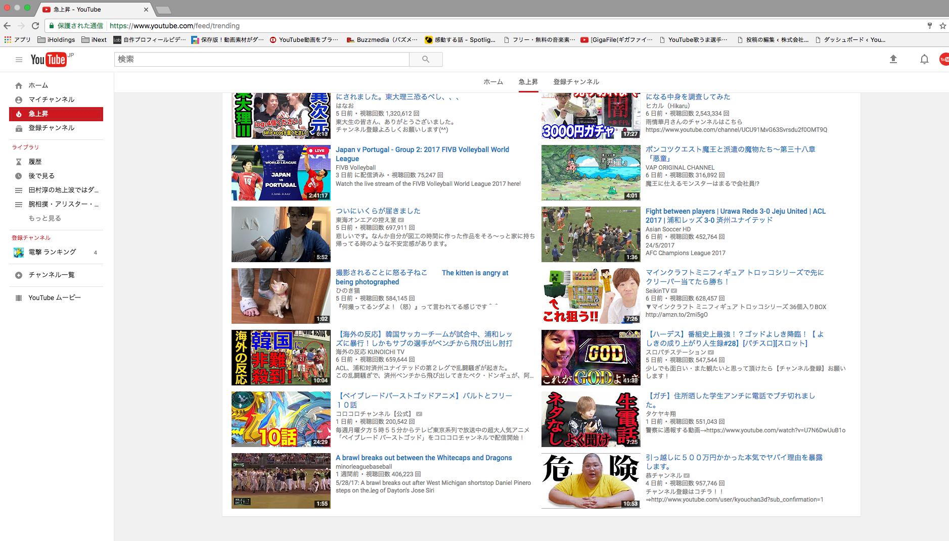 YouTubeの基本